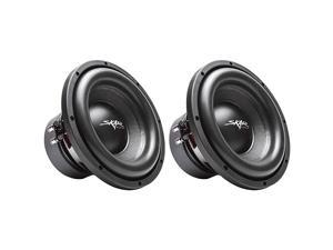 2  SDR10 D4 10 1200W Max Power Dual 4 Ohm Car Subwoofers Pair of 2