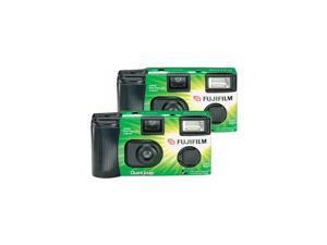 Quicksnap Flash 400 SingleUse Camera With Flash 2 Pack