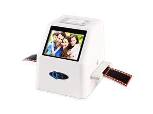 Negative Scanner 22 MP 110 135 126KPK Super 8 Negative Photo Scanner 35mm Slide Scanner Digital Converter High Resolution 22MP 24quot LCDWhite