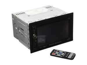 PD624B 2DIN Source Unit with Bluetooth62 LCD Black