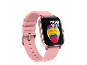 Smart Watch for Android Phones iPhone for Men Women Fitness Tracker Watch with Heart Rate Monitor Waterproof Activity Tracker with Sleep MonitorPink