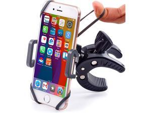 Motorcycle Phone Mount for iPhone 12 11 Xr SE MaxPlus Galaxy S20 or Any Cell Phone Universal ATV Mountain Road Bicycle Handlebar Holder +100 to Safeness Comfort