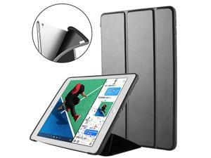 iPad Pro 105 Trifold Smart Case Silicone Soft TPU Auto SleepWake with Ultra Slim Back Cover for Apple iPad Pro 105inch Case Mint Green