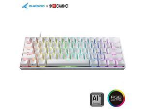 HK Venus RGB Mechanical Gaming Keyboard 60 Layout USB Type C Aluminium Chassis Gateron Red White