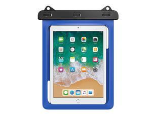 Waterproof Tablet Case Tablet Pouch Dry Bag for New iPad 97 20182017 iPad Pro 97 iPad Air 2 iPad 432 Samasung Tab S4 S3 S2Tab A 97 Galaxy Note 8 Tab E 96 Up to 10 Inch Blue
