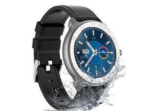 Smart Watch Android Compatible with iPhone Samsung  Bluetooth Android Smart Watches Waterproof Smartwatch iPhone Fitness Activity Tracker with Monitor Heart Rate Sleep for Women Men Silver