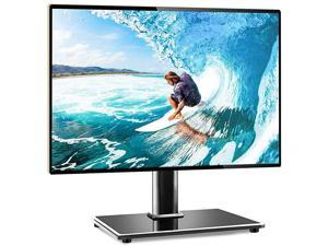 Universal Table Top TV Stand TV Base Replacement for Most 27 30 32 39 40 42 43 46 50 55 inch LCD LED Plasma Flat Screen TVs Vesa Mount Holds up to 88lbs Height Adjustable and Cable Management