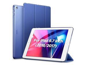 Yippee Trifold Smart Case for iPad 6th Generation 2018/2017 (Not for iPad 10.2) [Lightweight] [Multi-Angle Viewing Stand Case] [Auto Sleep/Wake] for iPad 5th/6th Gen - Navy Blue