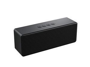 SpeakerPortable Wireless Speakers with HD SoundLonger Playtime Builtin Mic for iPhoneSamsungAndriodPCLaptop Ehco dot Support USBTF CardAUXBlack