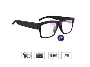 Camera Glasses 1080P  Mini Video Glasses Wearable Camera for Office/Outdoor/Training/Teaching/Kids/Pets
