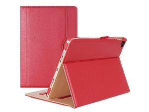 iPad Pro 97 Case  Stand Folio Case Cover for Apple iPad Pro 97 Inch 2016 with Multiple Viewing Angles Document Card Pocket Red