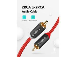 2RCA Male to 2RCA Male Stereo Audio Cable 3M10FT