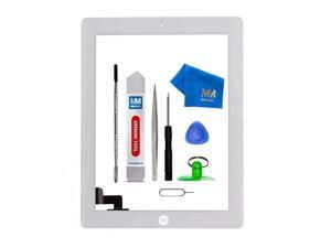 Digitizer Compatible with iPad 2 White 97 Inch Touchscreen Front Display Assembly Incl Tool kit