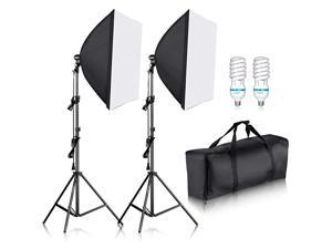 700W Professional Photography 24x24 inches60x60 Centimeters Softbox with E27 Socket Light Lighting Kit