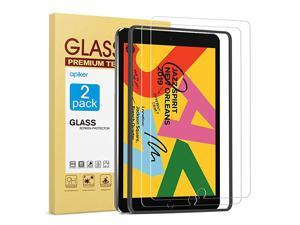 2 Pack Screen Protector Compatible with iPad 8th Generation 102 Inch iPad 8  Tempered Glass Screen Protector Compatible with Apple Pencil