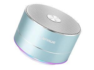 Portable Wireless Bluetooth Speaker with Built-in-Mic,Handsfree Call,AUX Line,TF Card Slot,HD Sound and Bass for iPhone Ipad Android Smartphone and More