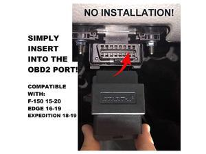 Remote Start Starter for Ford F-150 2015-2020, Edge 16-19, Expedition 18-19, || Plugs in to OBD2 Port || No Installation Required || Will Not Work with Any Non Listed Vehicles