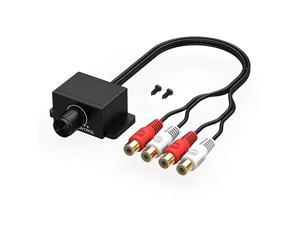 Universal Car RCA Remote Amplifier Level Controller Bass Knob Sub Amp Volume Control Cable