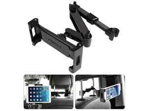 Car Headrest Tablet Mount Stretchable Tablet Headrest Holder Car Backseat Seat Mount for All 46in 129in Compatible with Pad Mini Pro Air Nintendo Switch Samsung Galaxy Tabs