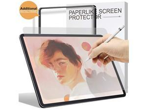 Paperfeel Screen Protector for iPad Air 4 2020 / iPad Pro 11 2021/2020/2018, [Install Frame]  High Touch Sensitivity Pro 11''/10.9'' Matte Screen Protector, Anti-Glare, Apple Pencil Compatible