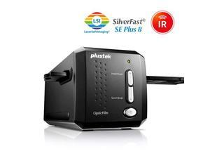 OpticFilm 8200i SE 35mm Film amp Slide Scanner 7200 dpi 48bit Output Integrated Infrared DustScratch Removal Bundle Silverfast SE Plus 88 Support Mac and PC