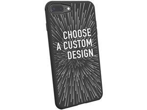 iPhone 8 Plus 7 Plus Slim Case Kung Fu Grip Lightweight + Protective Thin Cover for Apple iPhone 7 Plus 8 Plus Silk Secret Menu