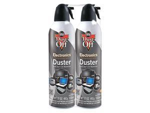 ampreg Disposable Compressed Gas Duster Two 17oz Cans per Pack