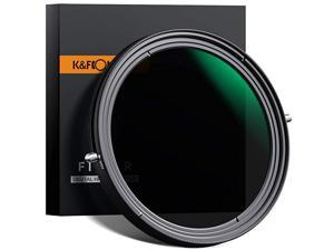 49mm Variable Fader ND2ND32 ND Filter and CPL Circular Polarizing Filter 2 in 1 for Camera Lens No X Spot Weather Sealed