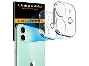 2 Pack  Camera Lens Protector for iPhone 11 Tempered Glass NEW VERSIONAdd cameras flash circle