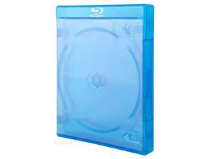 10 Pieces Bluray Case Triple for 3 Discs 22mm with Wrap Around Sleeve for Your Artwork