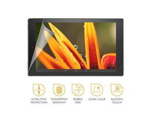 Beam Crystal Shield Screen Protector for  Kindle Fire HD 10 7th Generation 2017 Release Case Friendly Replacement Guarantee Clear