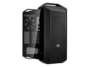MCM-M500-KG5N-S00 MasterCase MC500 Mid-Tower ATX Case w/Freeform Modular,  Front Mesh Ventilation, Tempered Glass Side Panel, Carrying Handle & Cable Management Cover, MC500 Mid Tower
