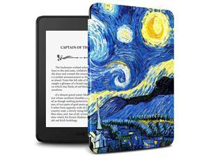 Kindle Paperwhite 2018 Case Compatible with  Kindle Paperwhite 10th Generation 6 inches 2018 ReleaseAuto WakeSleepStarry Night