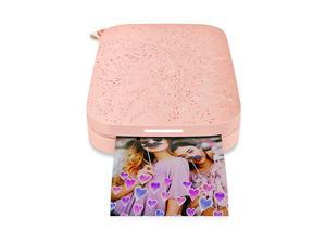 Sprocket Portable 2x3 Instant Photo Printer Blush Pink Print Pictures on Zink StickyBacked Paper from your iOS Android Device