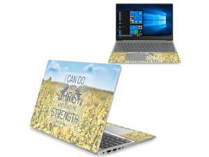 """Skin Compatible with Lenovo Ideapad 330S 15"""" (2018) - Be Happy   Protective, Durable, and Unique Vinyl Decal wrap Cover   Easy to Apply, Remove, and Change Styles   Made in The USA"""