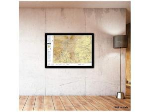 Chart VFR Sectional Albuquerque SALB Current Edition Art Print Quality Suitable for Framing Current Edition Printed on Demand Ships Rolled Not Folded