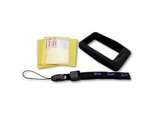 Wahoo ELEMNT Ultimate Protection Bundle Includes GSAVR Lanyard Tether Molded Protective Silicone Case and 3 Screen Protectors