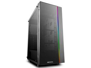 MATREXX 55 ADDRGB Case EATX Supported Motherboard or Button Control of SYNC of Addressable RGB Devices of Any Brands 4mm Full Sized Tempered Glass