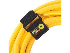 SuperStretch Straps 12 8 Pack Elastic Hook and Loop Cinch Straps Extension Cord Organizer Hose and Cables Straps Cord Wrap Cord Keeper Garage and RV Storage Accessories