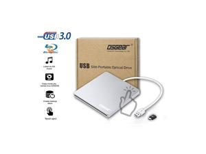 USB 3.0 Type C Slim Slot in Loading External 8X DVDRW DVD CD RW ROM Drive Burner Writer Reader for Apple Mac Acer Asus Dell HP Lenovo Windows PC Box Laptop Desktop Portable Support Touch Eject