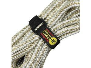 SuperStretch Straps Assorted 8 Pack Elastic Hook and Loop Cinch Straps Extension Cord Organizer Hose Rope and Cables Straps Cord Wrap Cord Keeper Garage and RV Organization