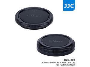 Camera Body Cap Rear Lens Cap Protector for Fujifilm G Mount Camera GFX 50S GFX 50R Fujinon GF Lens GF23mm GF45mm GF63mm GF110mm GF120mm GF250mm GF3264mm Replaces Fuji BCP002 + RLCP002