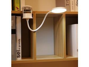 Clip on Lamp,Battery Powered Reading Lamp,Clip on Light for Bed Clip on Battery Light with 3 Brightness Level,USB Rechargeable, Reading Lamp