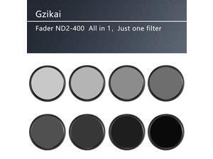 77mm ND2ND400 Fader Variable Neutral Density Adjustable Lens Filter ND Filter Optical Glass Filter