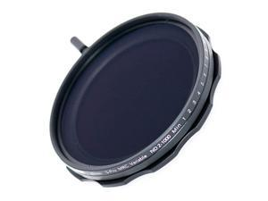 62mm Variable ND Filter SPro MRC 16 Layers Nano Coatings More Than 10 Stop ND2ND1000 Stepless Adjustment Graduated Lens Cloth Kit Camera Neutral Density Filter