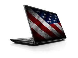 6 inch Laptop Notebook Skin vinyl Sticker Cover Decal Fits 133 14 6 16 HP Lenovo Apple Mac Dell Compaq Asus AcerAmerican Flag distressed