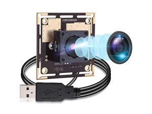 5 Megapixel USB Camera Module HD 2592X1944 USB Webcamera with CMOS OV5640 Sensor USB with CameraMini Webcam for Windows Mac Andriod LinuxPlugPlay OTG Camera