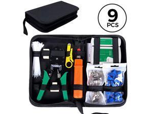 Network Tool Kit for Cat55e Black