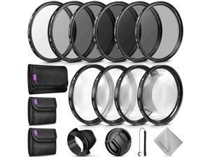 Complete Lens Filter Accessory Kit for Nikon D3300 D3200 D3100 D3000 D5300 D5200 D5100 D5000 D7000 D7100 DSLR Camera