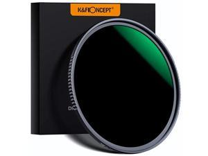 Concept 46mm ND1000 10 Stop ND Lens Filter Fixed Neutral Density Filter HD 18 Layer Super Slim MultiCoated Glass NanoX MRC Series for Camera Lens